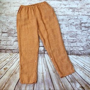 Flax linen pants